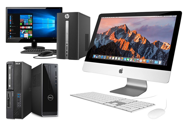 Desktops, All-In-Ones