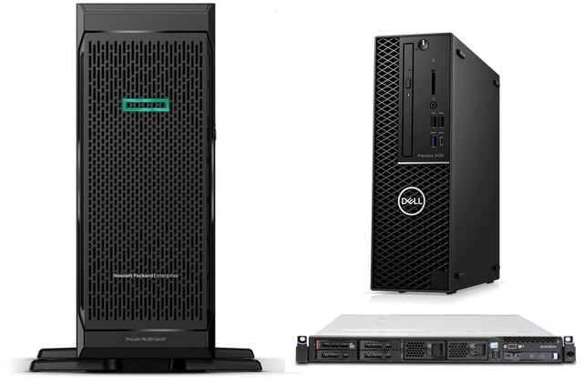 Servers, Workstations, Server Options